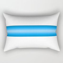 Retro #7 Rectangular Pillow