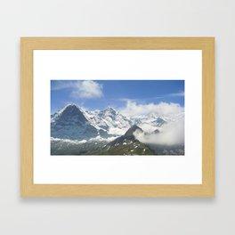 Swiss Bliss Framed Art Print