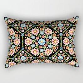 Millefiori Floral Rectangular Pillow