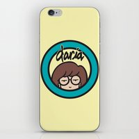 daria iPhone & iPod Skins featuring Daria Symbol by Marianna