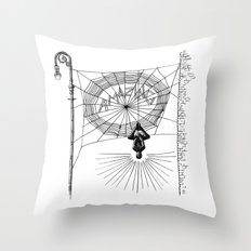 Peter's Web Throw Pillow
