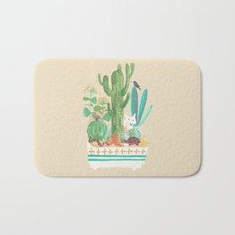 Desert planter Bath Mat