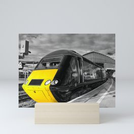 Bristol Temple Meads Power car  Mini Art Print