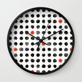 Ink Blot II Wall Clock