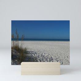 A Peaceful Day At A Marvelous Gulf Shore Beach Mini Art Print