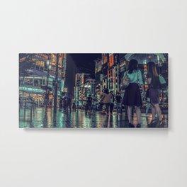 TOKYO BLOOM - LIGHT HAZARD Metal Print
