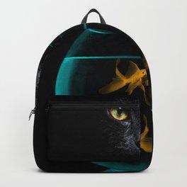 Black Cat Goldfish Backpack