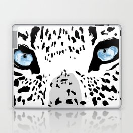 The blues; leopard. Laptop & iPad Skin