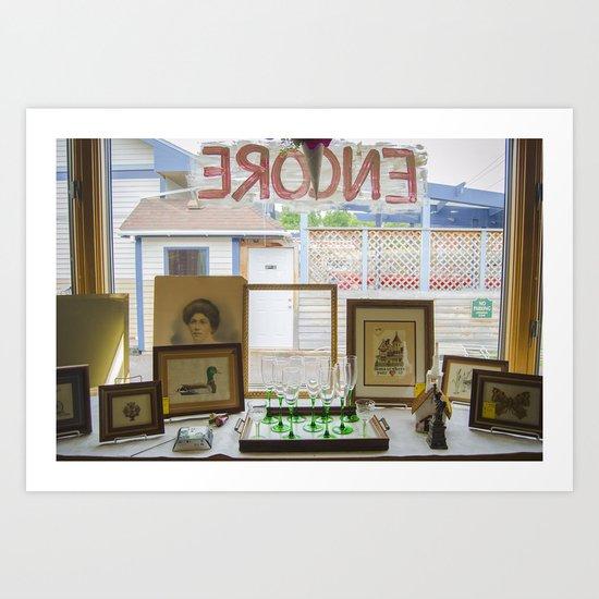Store window  Art Print