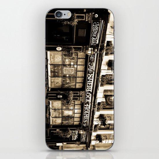 The Sherlock Holmes Pub London iPhone & iPod Skin