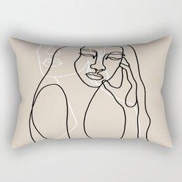 Alma & Wanda Rectangular Pillow