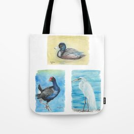 New Zealand Waterbirds Tote Bag