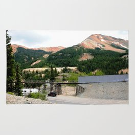 1880's Gold Rush - The Idarado Mine and Red Mountains Rug