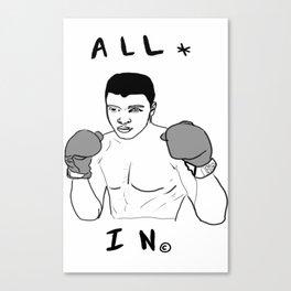 Ali-Boombyeyay Canvas Print