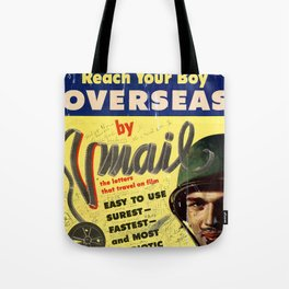 Reach Your Boy Tote Bag