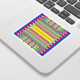 Test Pattern No. 2 Sticker
