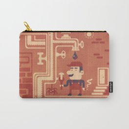 Mario at work Carry-All Pouch