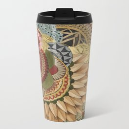 Asleep in the Quilted Forest: The Fox Metal Travel Mug