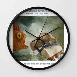 Poor William Wall Clock