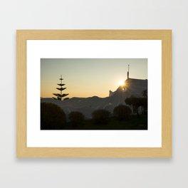 Casa Pueblo Framed Art Print