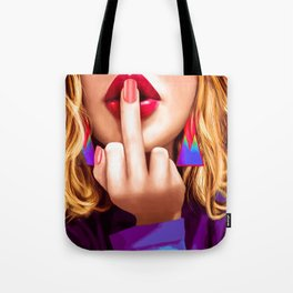 Flipping You Off Tote Bag