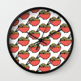 Noodles Wall Clock