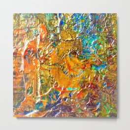 Artist Color Wheel Metal Print