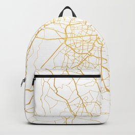 BERLIN GERMANY CITY STREET MAP ART Backpack