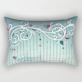 Heart Candy Raincloud Rectangular Pillow
