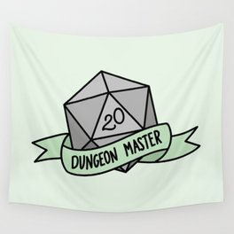 Dungeon Master D20 Wall Tapestry