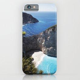 Zakynthos Island, Navagio Beach iPhone Case