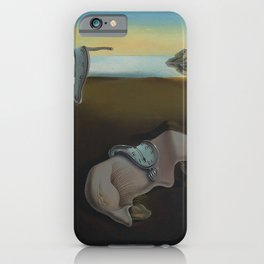 The Persistence of Memory iPhone Case