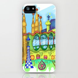 Barcelona iPhone Case