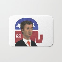 Rand Paul Caricature Bath Mat