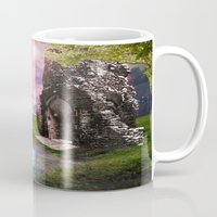 river song Mugs featuring Moon River by Susie Hawkins