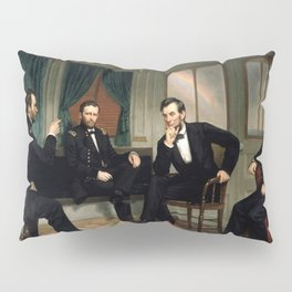 The Peacemakers Civil War Union Leaders Pillow Sham