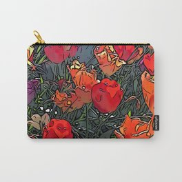 Tulips in Aspen Carry-All Pouch