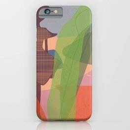 Abstract girl pro iPhone Case