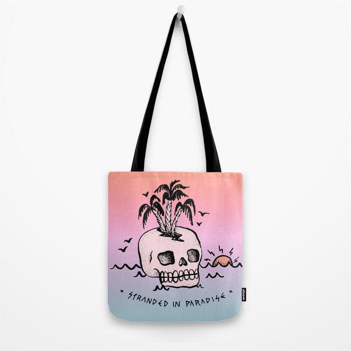 STRANDED IN PARADISE Tote Bag