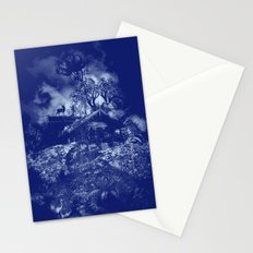 little house on the mount Stationery Cards