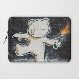 Banksy's Big Bad Bear Laptop Sleeve