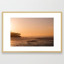 Sri Lankan Sunrise Framed Art Print