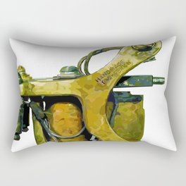 Machine six Rectangular Pillow