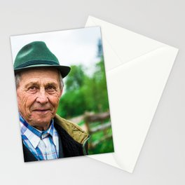 Romanian Mountain Man Stationery Cards