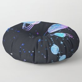 Blue Star Floor Pillow
