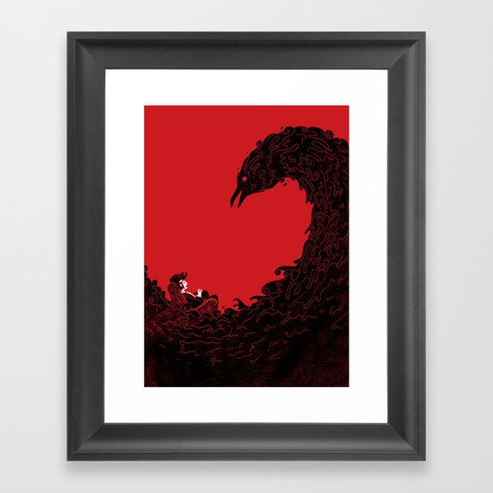 Nevermore Framed Art Print