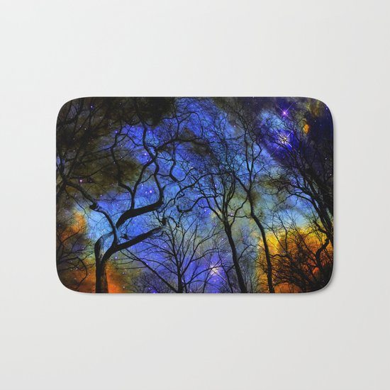 astral projection Bath Mat