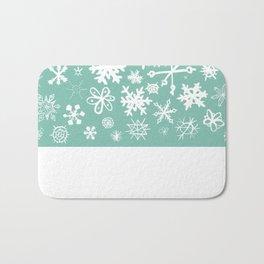 Snowflake Pond Bath Mat