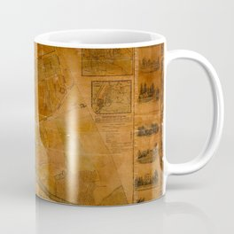 Map Of Flushing 1841 Coffee Mug