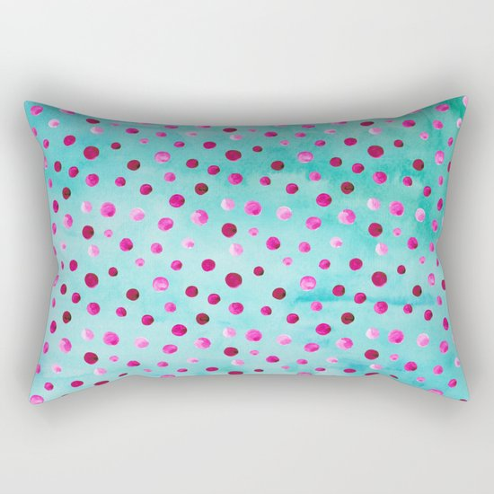 Polka Dot Pattern 05 Rectangular Pillow